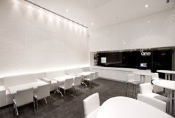 one – עיצוב מסעדת סושי