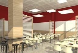 עיצוב חדר אוכל