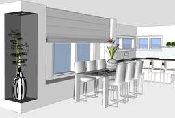 עיצוב בית במושב