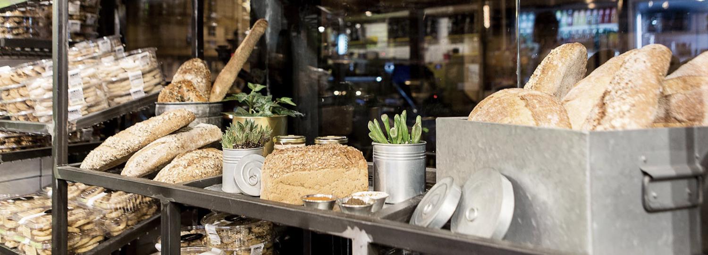 """""""תחנת לחם"""" – מאפייה בעיצוב תעשייתי"""