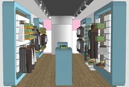 עיצוב חנות בגדים בקניון