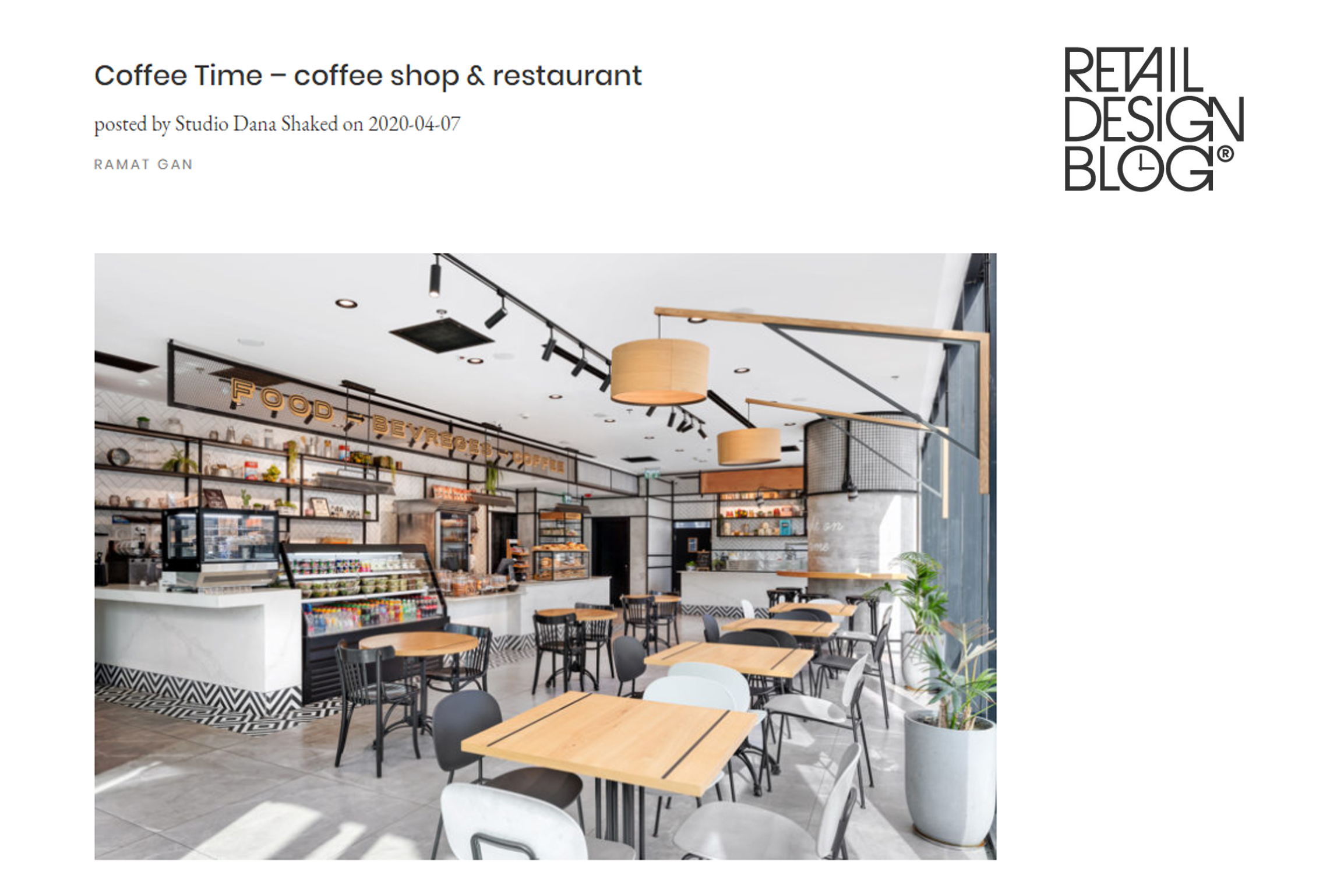 Coffee Time – Retail Design Blog