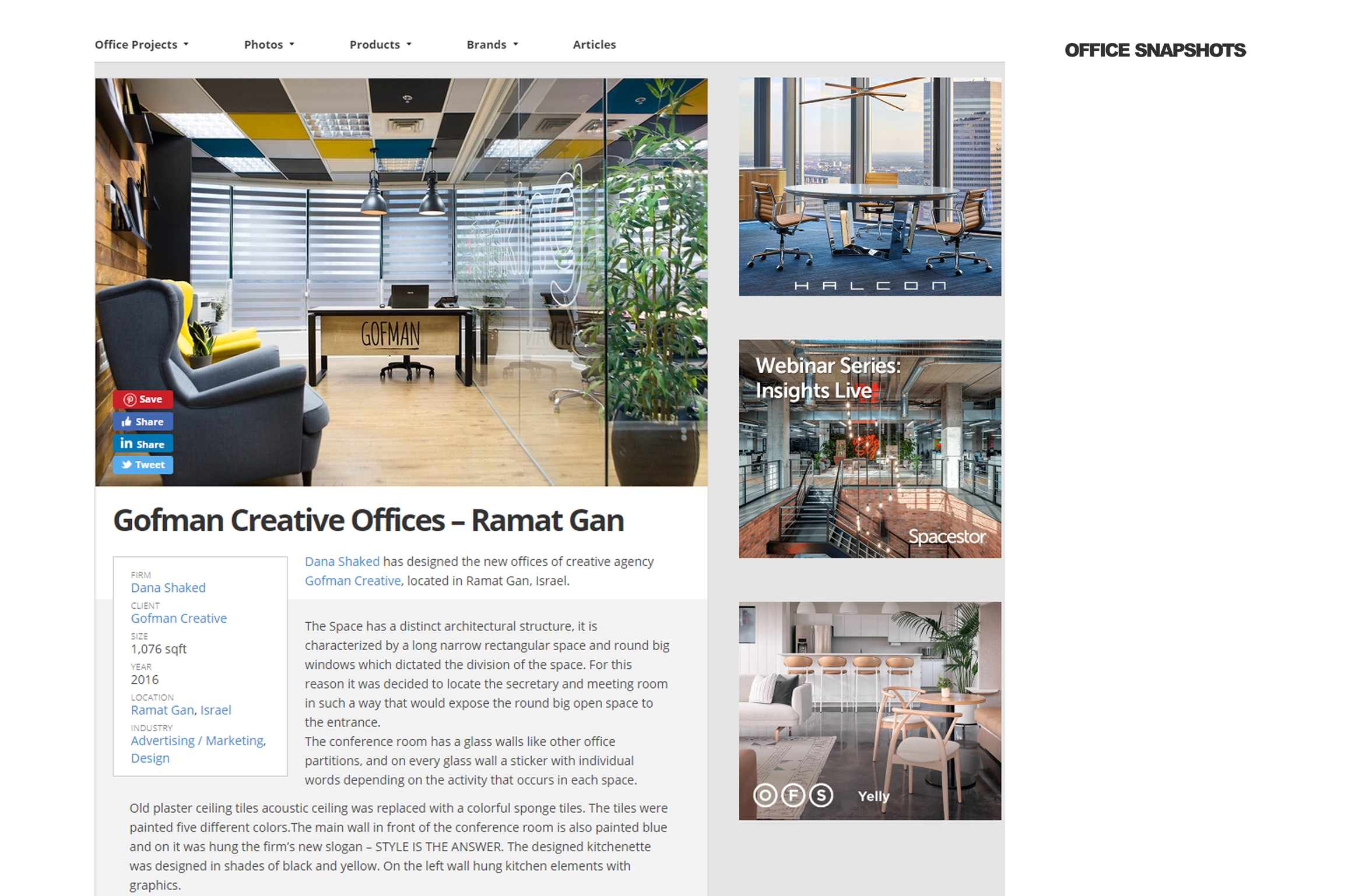 Gofman Creative – Office Snapshots