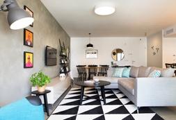 עיצוב דירת קבלן – כפר יונה