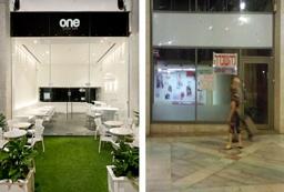 עיצוב לפני ואחרי – מסעדות, חנויות ודוכנים