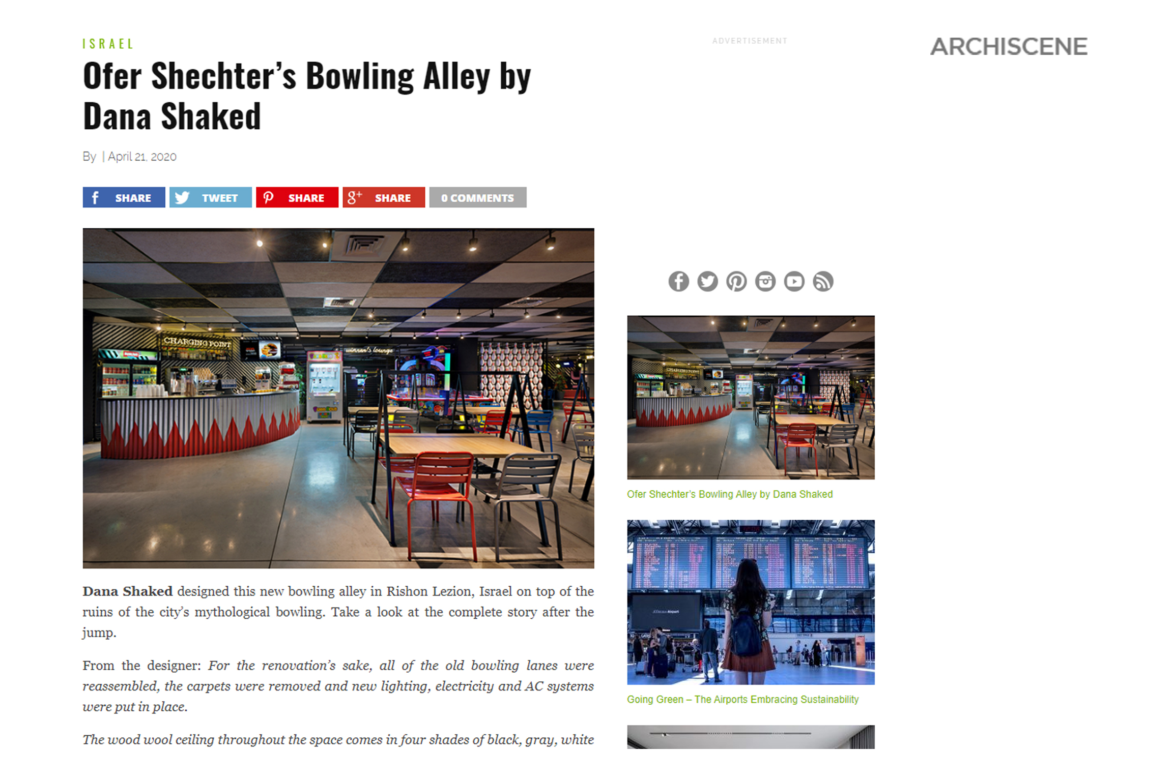 Bowling – Archiscene