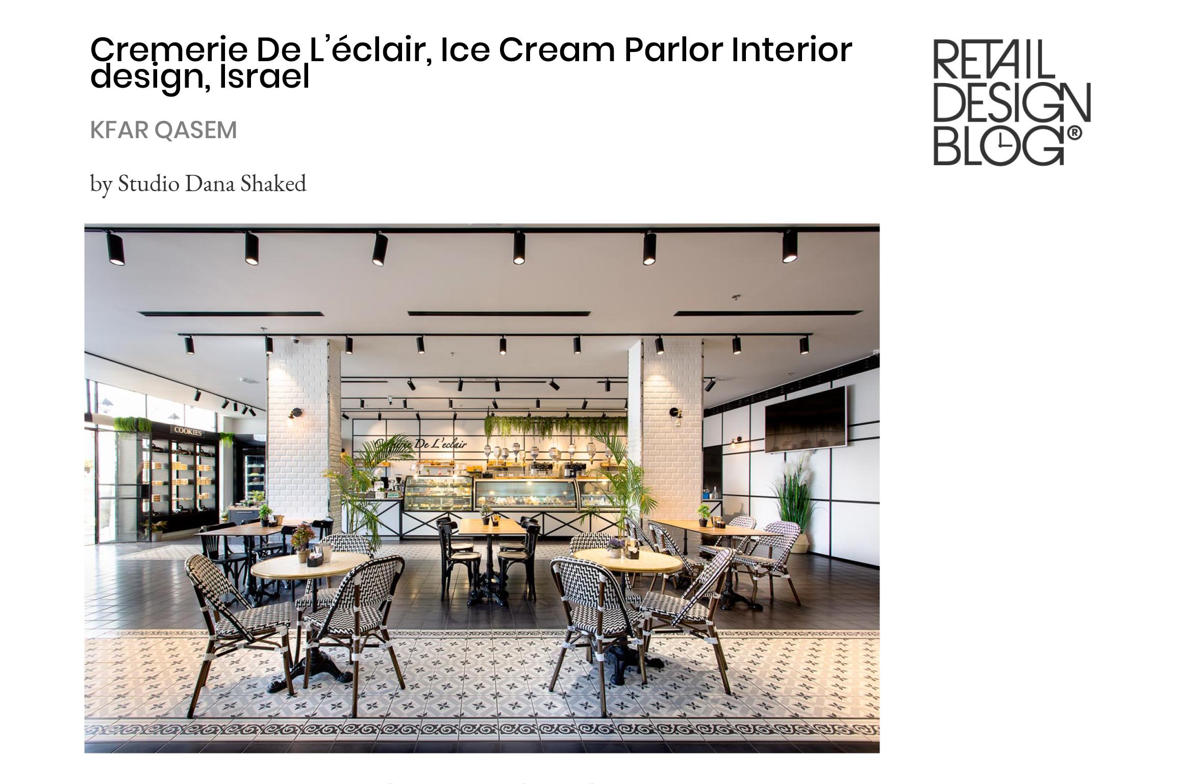 Cremerie De L'éclair – Retail Design Blog