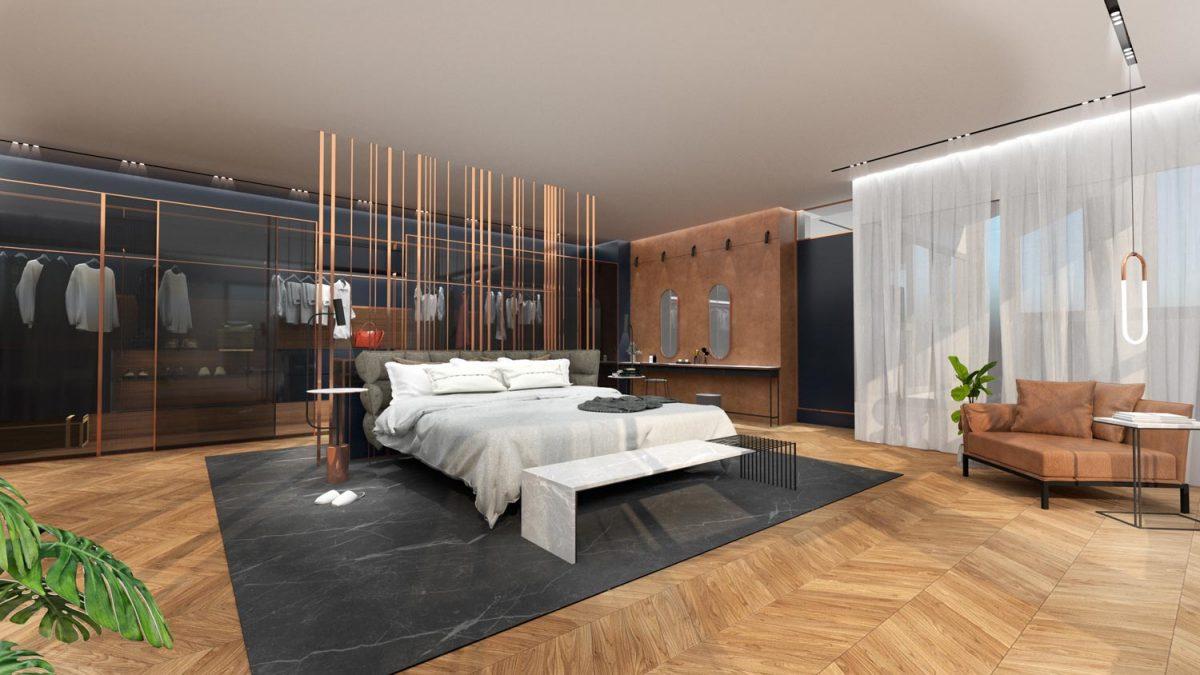 דירת מגורים יוקרתית חדר שינה