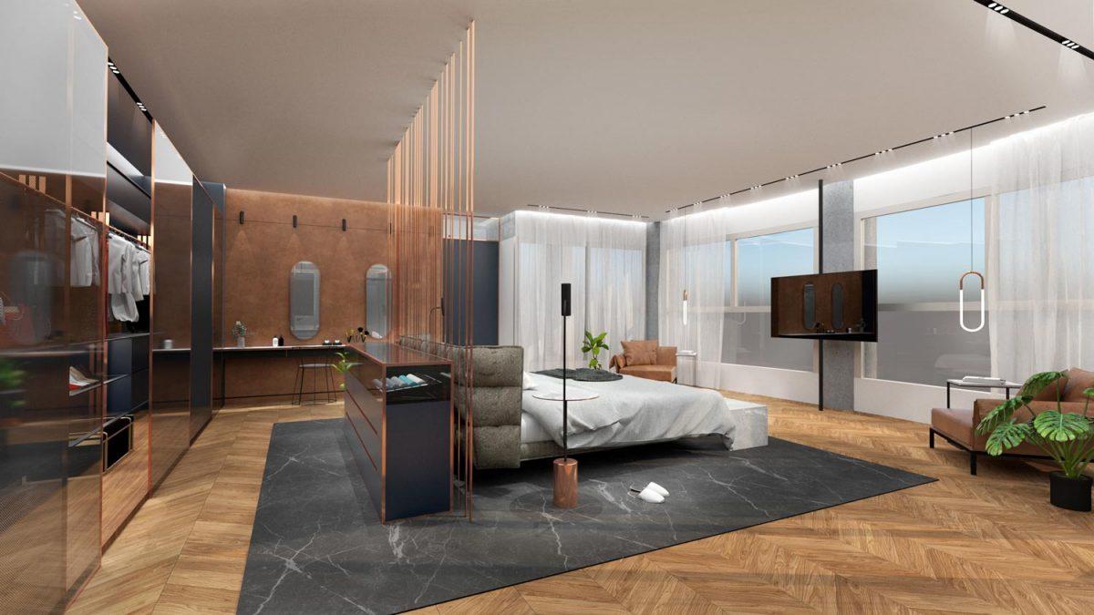 דירת מגורים יוקרתית חדר שינה 3