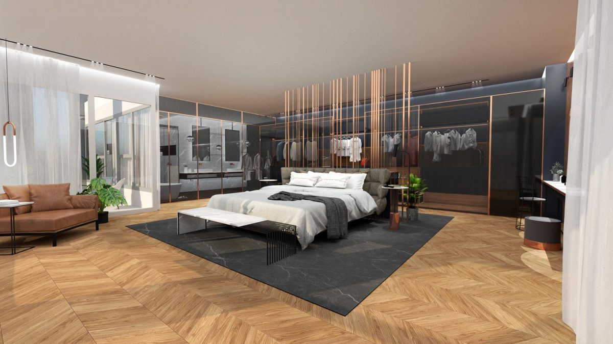 דירת מגורים יוקרתית חדר שינה 4