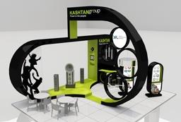עיצוב ביתן לתערוכה kashtan