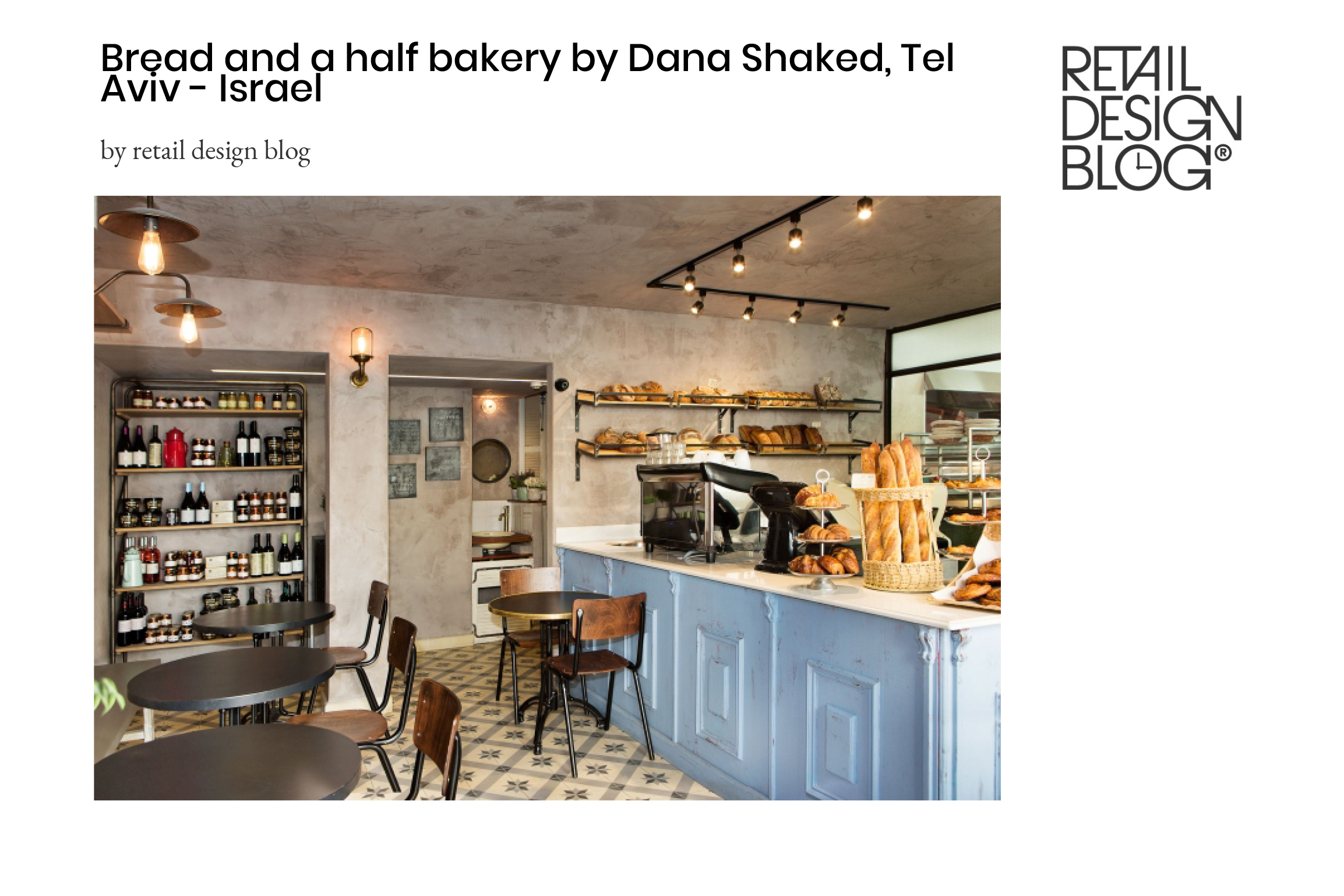 Bread And A Half – Retail Design Blog