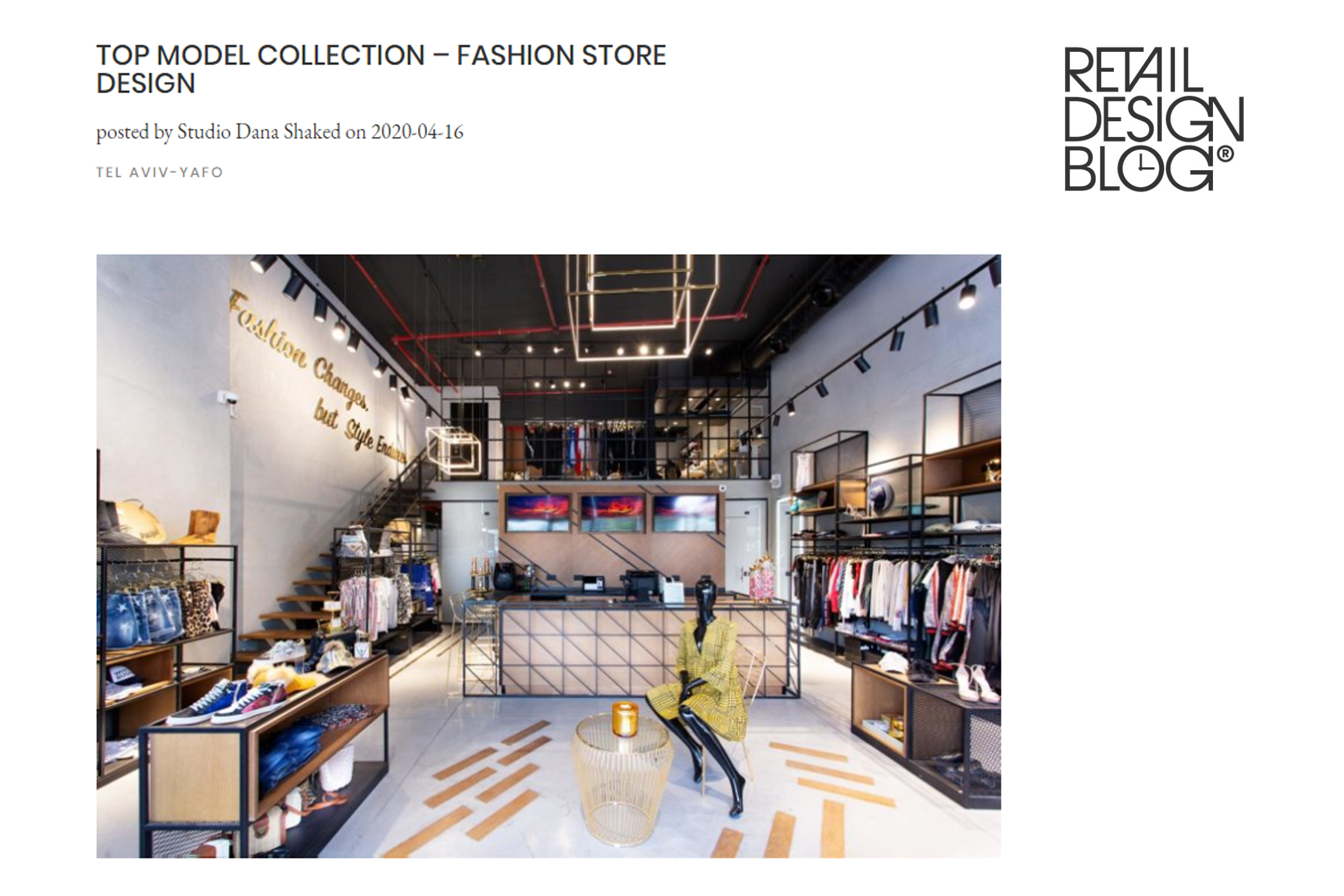 Top Model Collection – Retail Design Blog