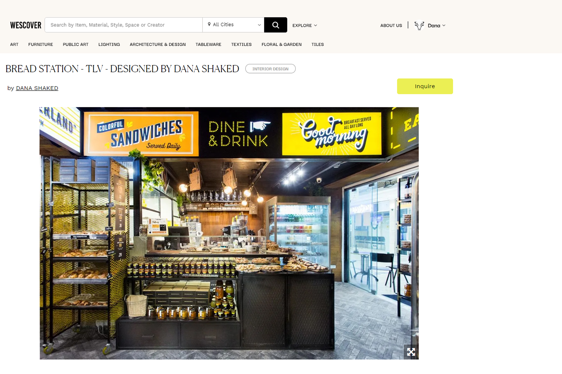 Bread Station LM TLV – Wescover