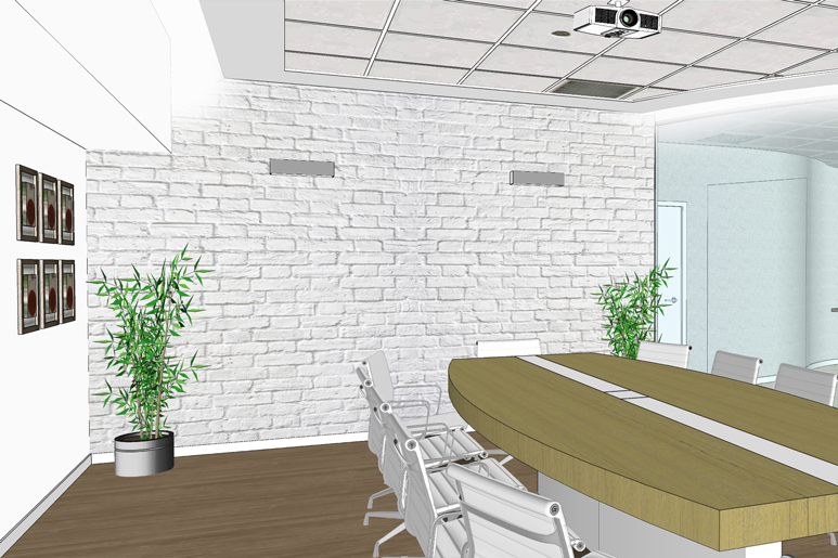 עיצוב משרדים - חדר הישיבות