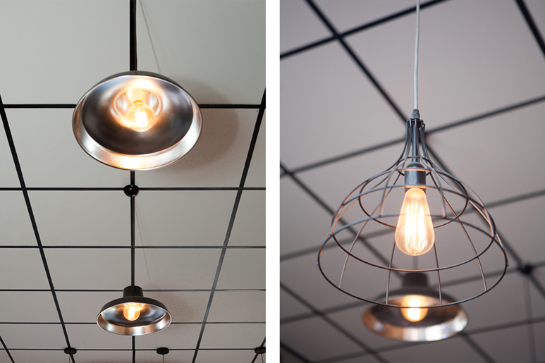 בחירת גופי תאורה במראה תעשייתי