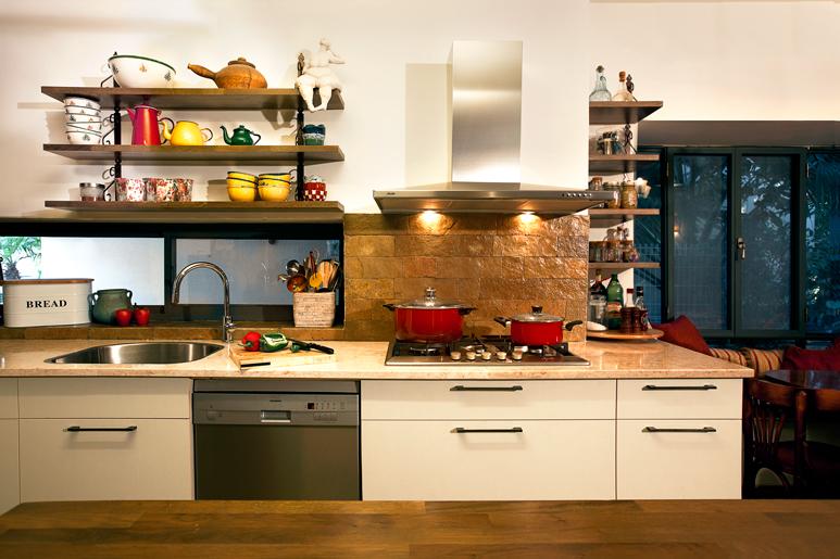 שיפוץ מרתק לבית מגורים בזכות אופייה הייחודי וכשרונה של הלקוחה