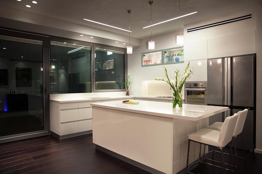 עיצוב דירת יוקרה במגדל חדש בתל אביב