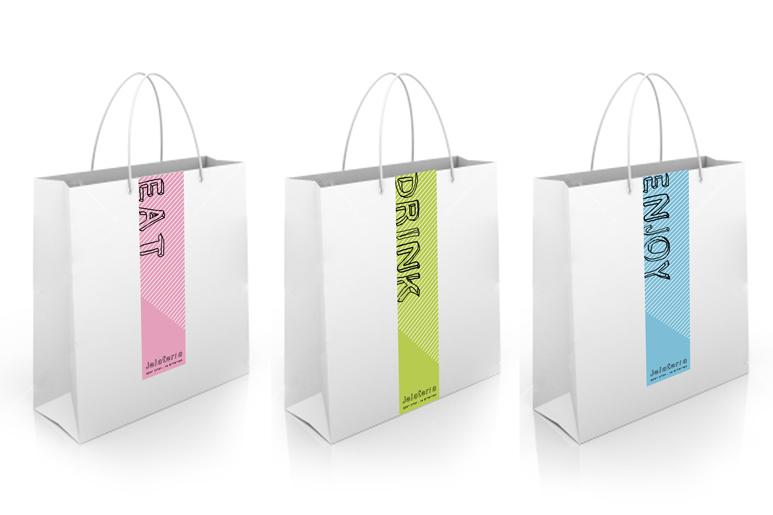 עיצוב שקיות נייר