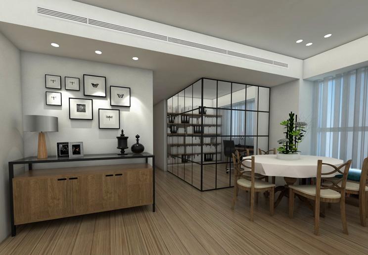 תכנון ועיצוב דירת יוקרה במגדל בתל אביב