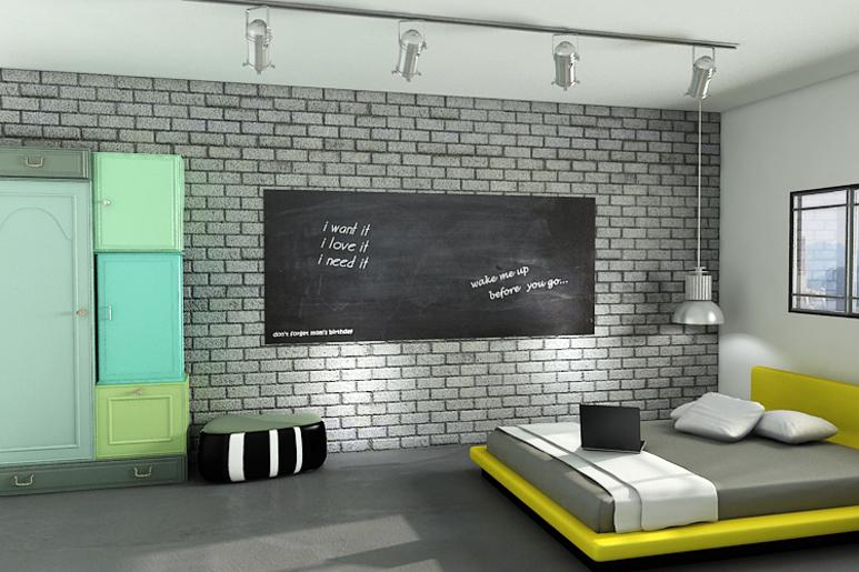 עיצוב חדר נער מתבגר