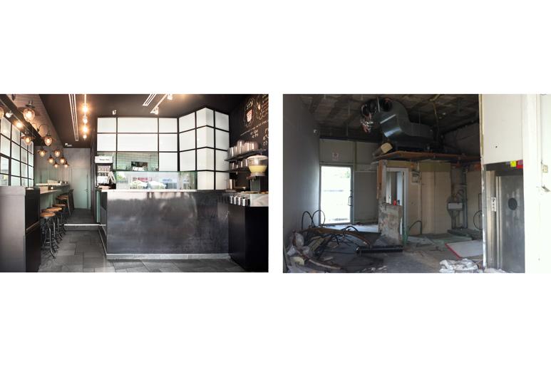 לפני ואחרי עיצוב סביח