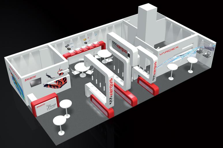 שטחו הנרחב של הביתן מאפשר למקם שני חללי ישיבות ואחסון בצדדיו