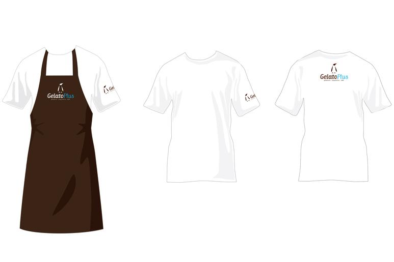 הטמאת הלוגו והמיתוג כולו באלמנטים נילווים כולל פרטי לבוש לעובדים